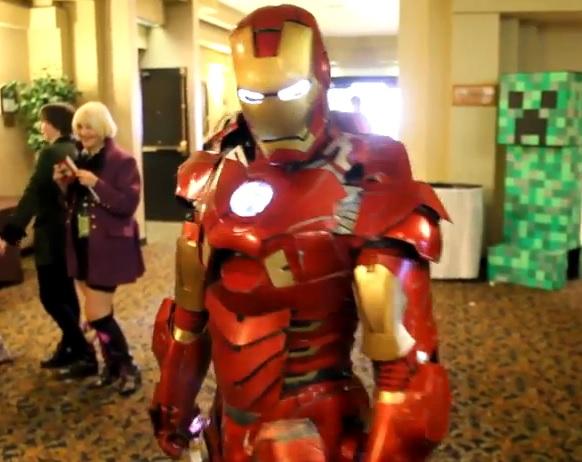 El traje de Iron Man en la vida real