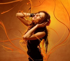 HD-Cool-Music-Girl-Wallpaper