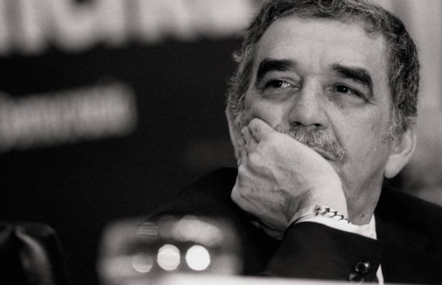 Gabriel Garcia Marquez, writer The Colombian writer on occasion of the dialogues 'Iberoamerica: Meeting in Democracy'